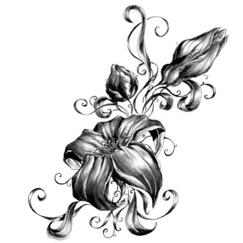 Wzór Tatuażu Kwiat Monika Wypożyczalnia Sprzętu